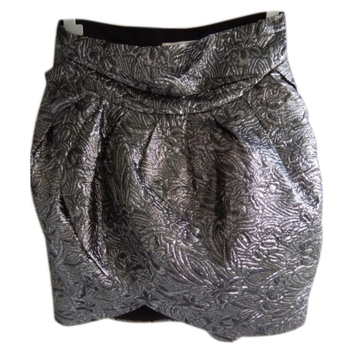 Isabel Marant Pour H&m \N Rocke in  Silber Baumwolle