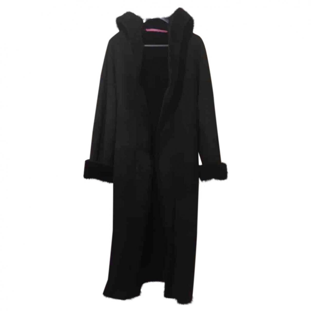 Emanuel Ungaro - Manteau   pour femme en cachemire - noir