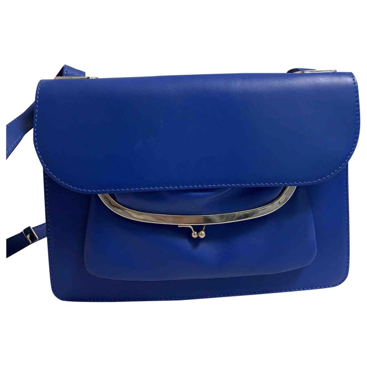 Maison Martin Margiela \N Blue Leather handbag for Women \N