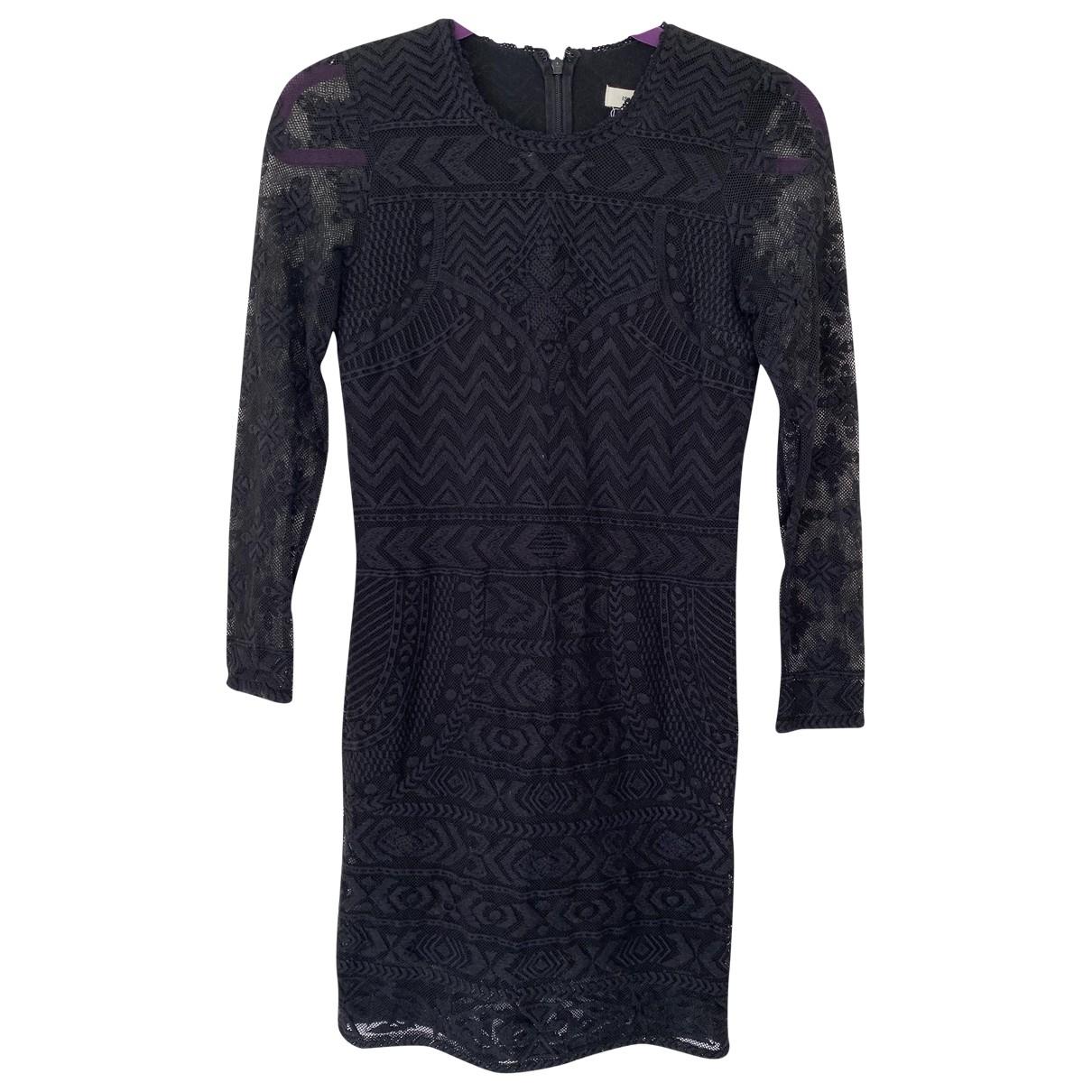 Isabel Marant Pour H&m \N Kleid in  Schwarz Baumwolle
