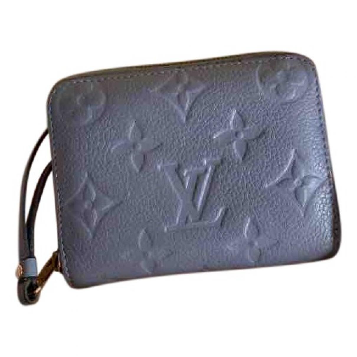 Louis Vuitton - Petite maroquinerie Zippy pour femme en cuir - violet