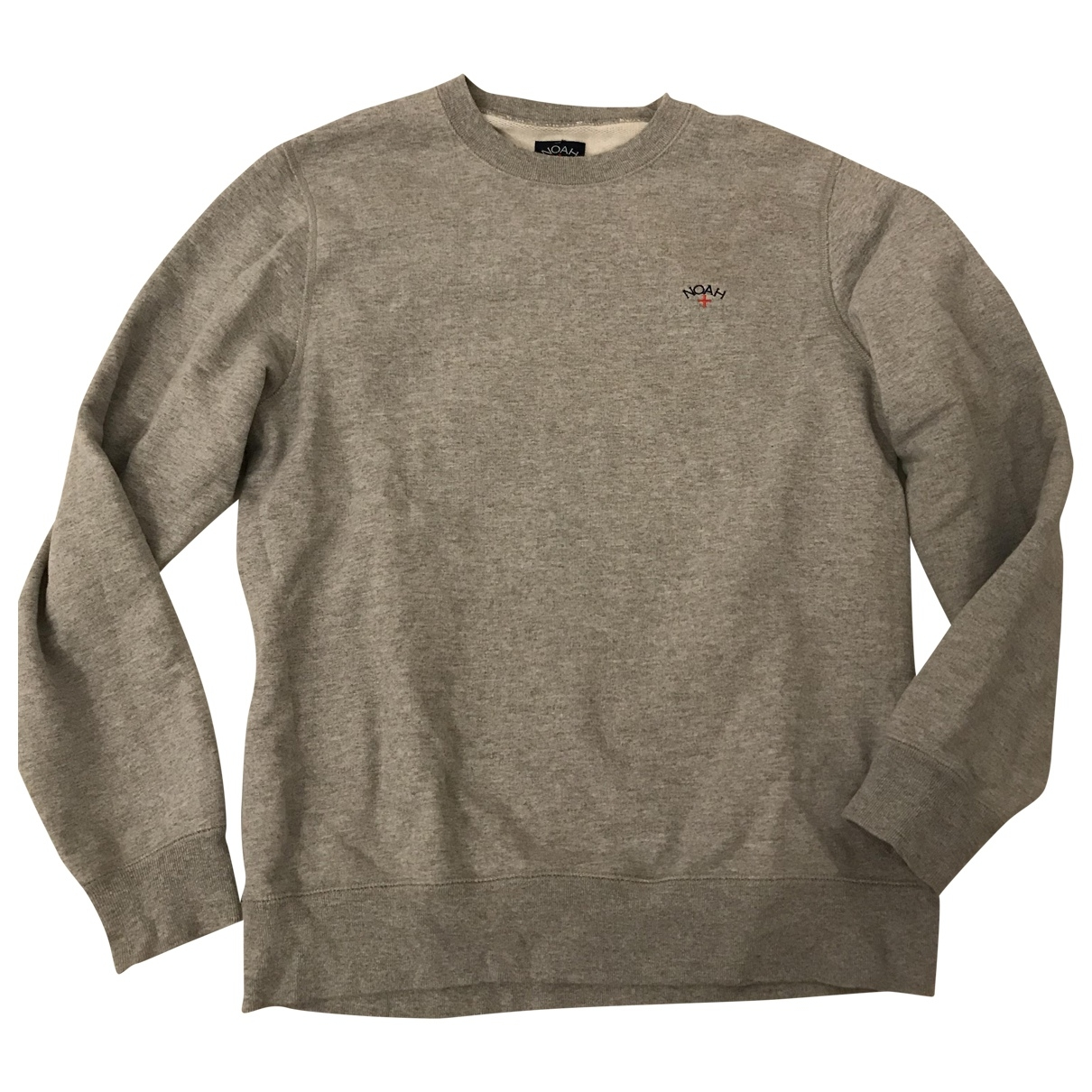 Noah \N Pullover.Westen.Sweatshirts  in  Grau Baumwolle