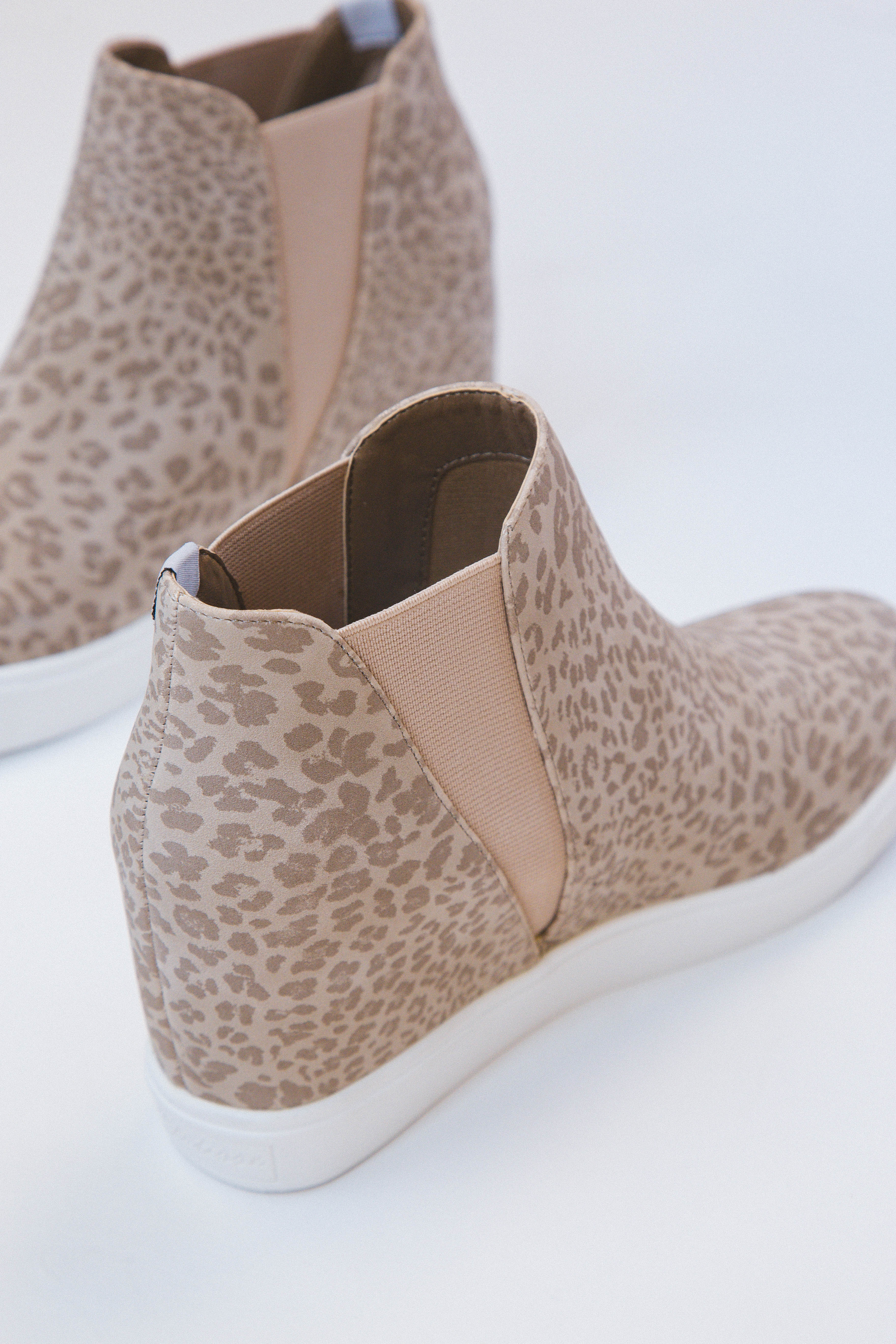 Lure Hidden Wedge Slip On Sneaker Taupe Leopard | Coconuts by Matisse
