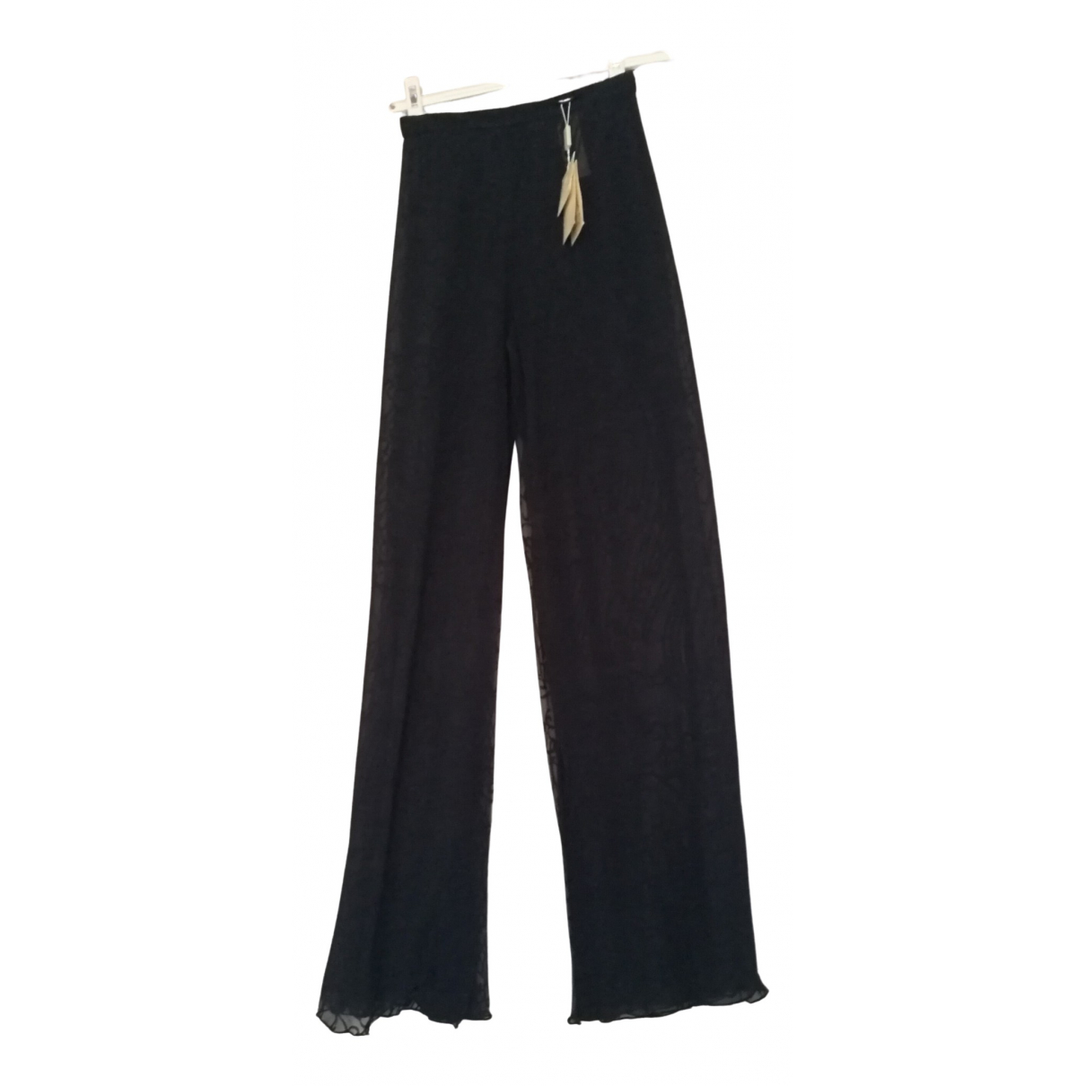 Giorgio Armani \N Blue Trousers for Women 38 IT