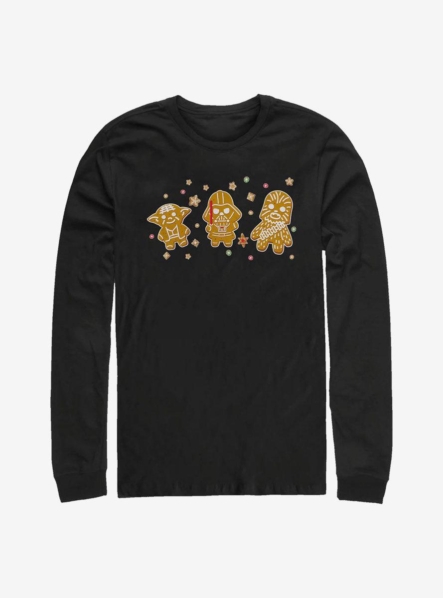 Star Wars Three Cookies Long-Sleeve T-Shirt