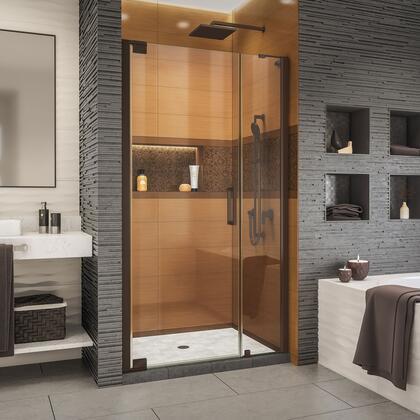 SHDR-4330120-06 Elegance-LS 40 1/2 - 42 1/2 W x 72 H Frameless Pivot Shower Door in Oil Rubbed