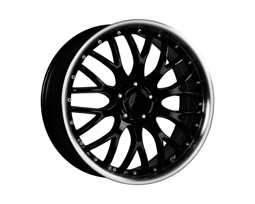 Drag DR-75 Gloss Black Machined Lip 19x8.5 5x120 33