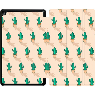 Amazon Fire HD 8 (2017) Tablet Smart Case - Cactus Pot von caseable Designs