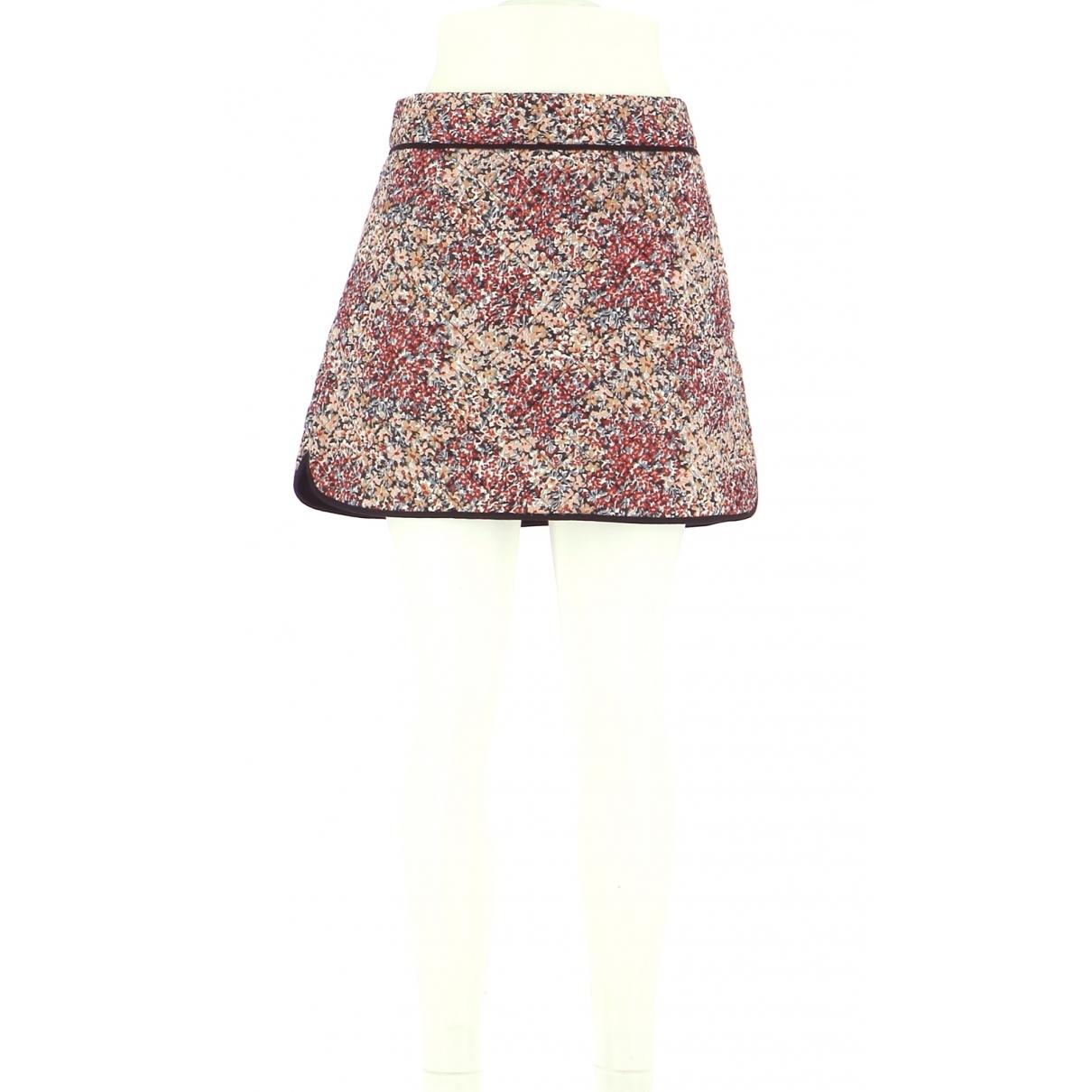 Comptoir Des Cotonniers \N Multicolour Cotton skirt for Women 42 FR