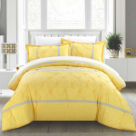 Chic Home Vermont 8-pc. Comforter Set, One Size , Yellow