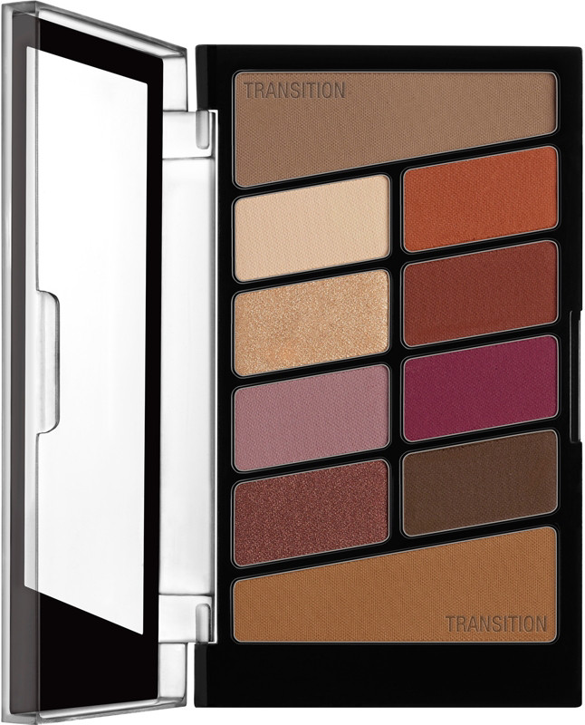 Color Icon Eyeshadow 10 Pan Palette - Rose in the Air