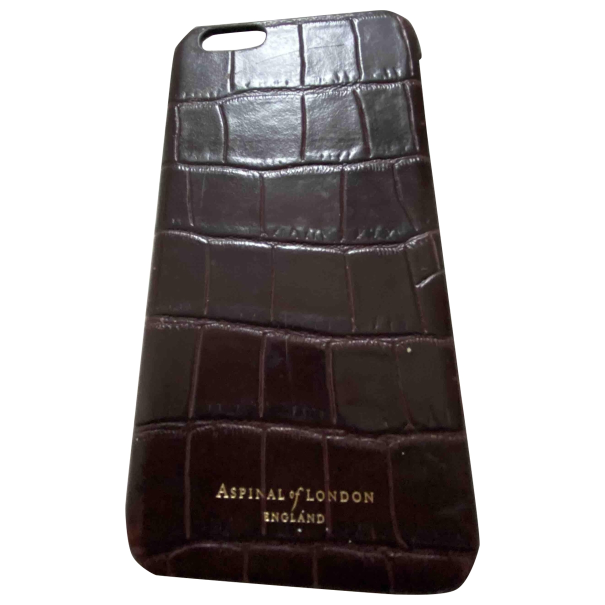 Aspinal Of London \N Brown Leather Accessories for Life & Living \N