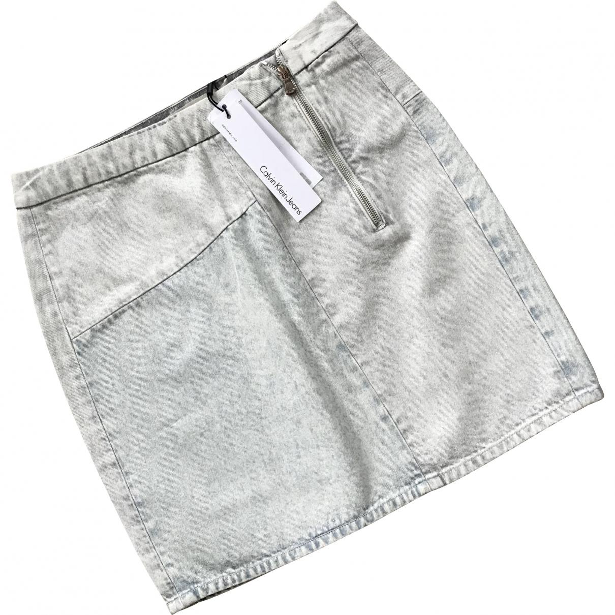 Calvin Klein \N Denim - Jeans skirt for Women M International