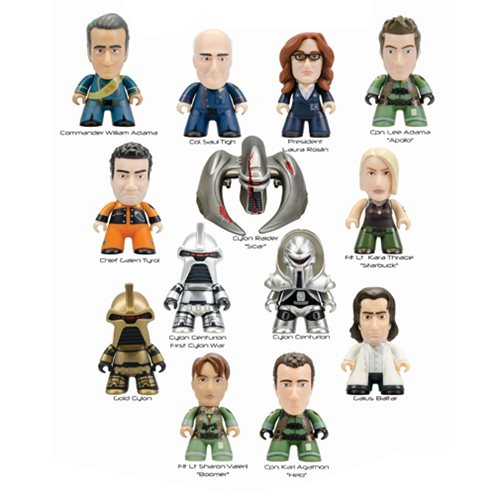 Battlestar Galactica Titans Ser. 1 Mini-Figure Display Box
