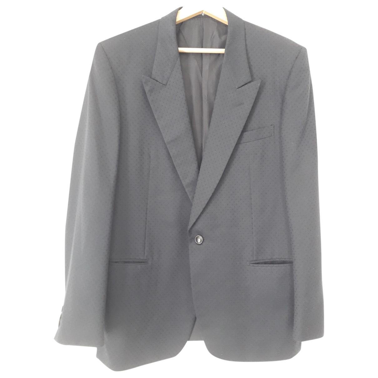 Yves Saint Laurent \N Black Wool jacket  for Men 52 IT