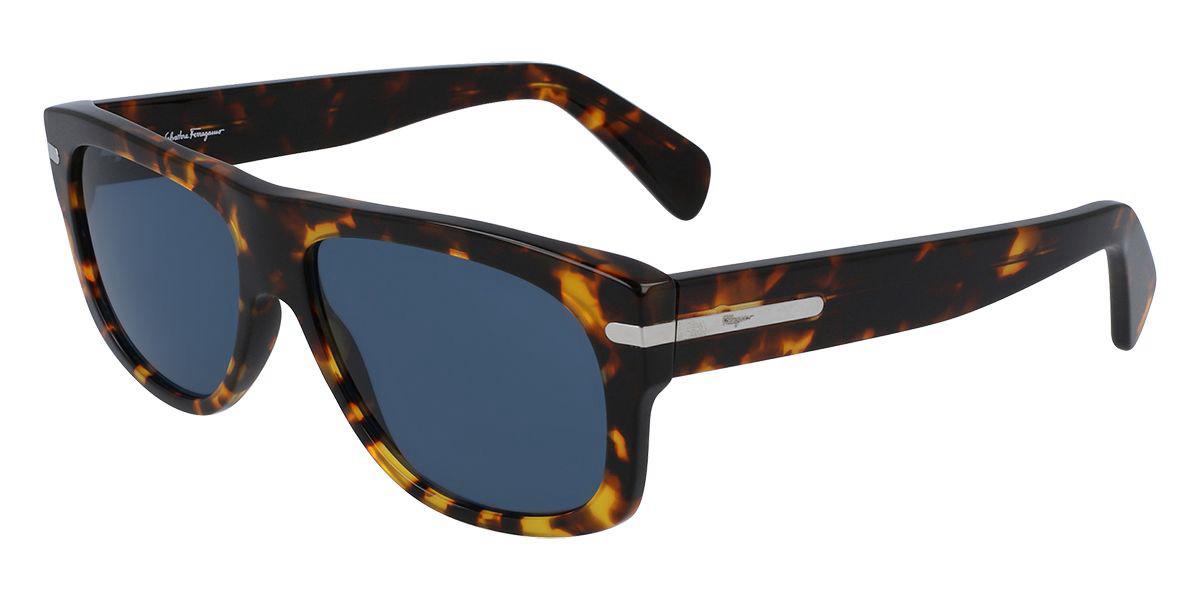 Salvatore Ferragamo SF991S 219 Men's Sunglasses Tortoise Size 58