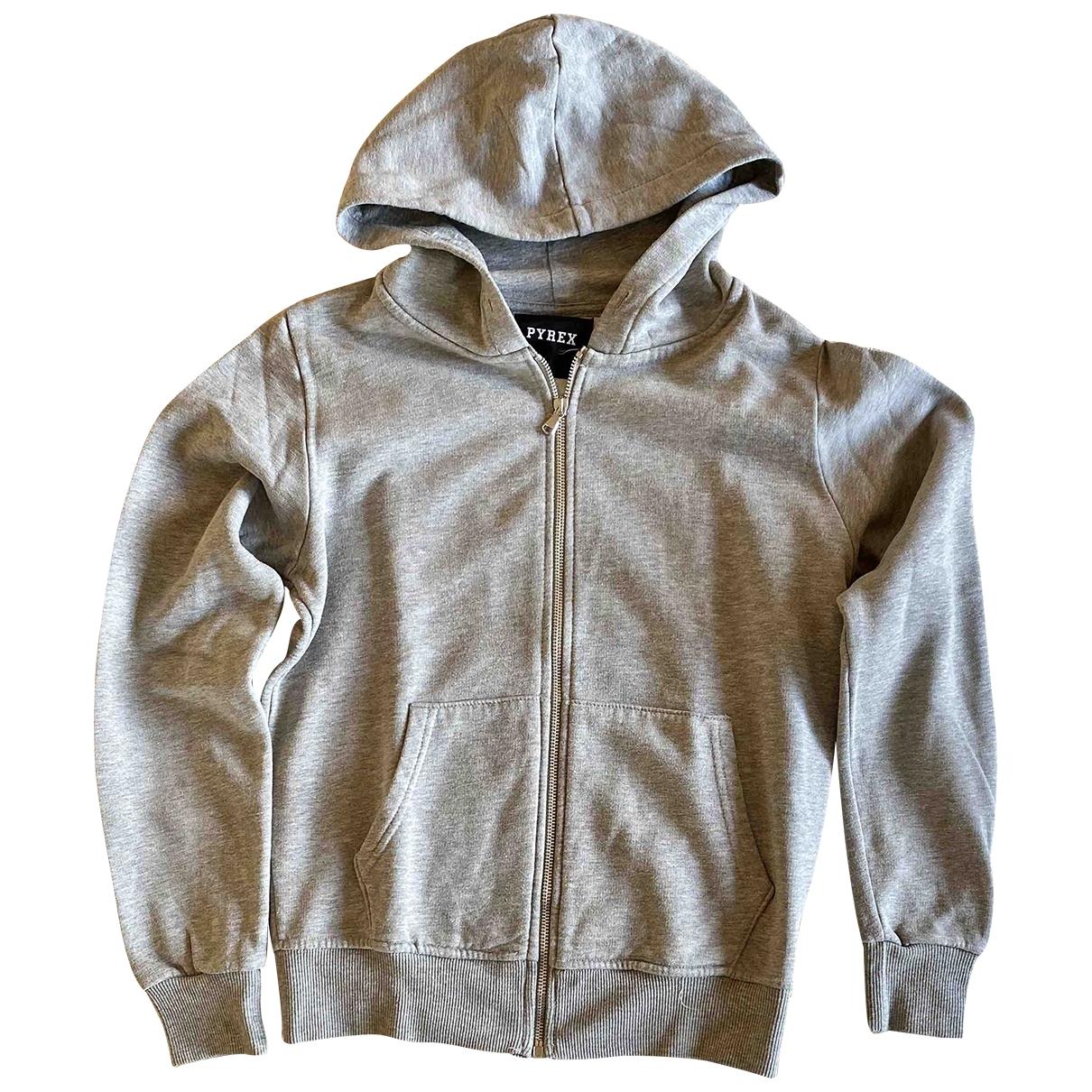 Pyrex \N Pullover.Westen.Sweatshirts  in  Grau Baumwolle