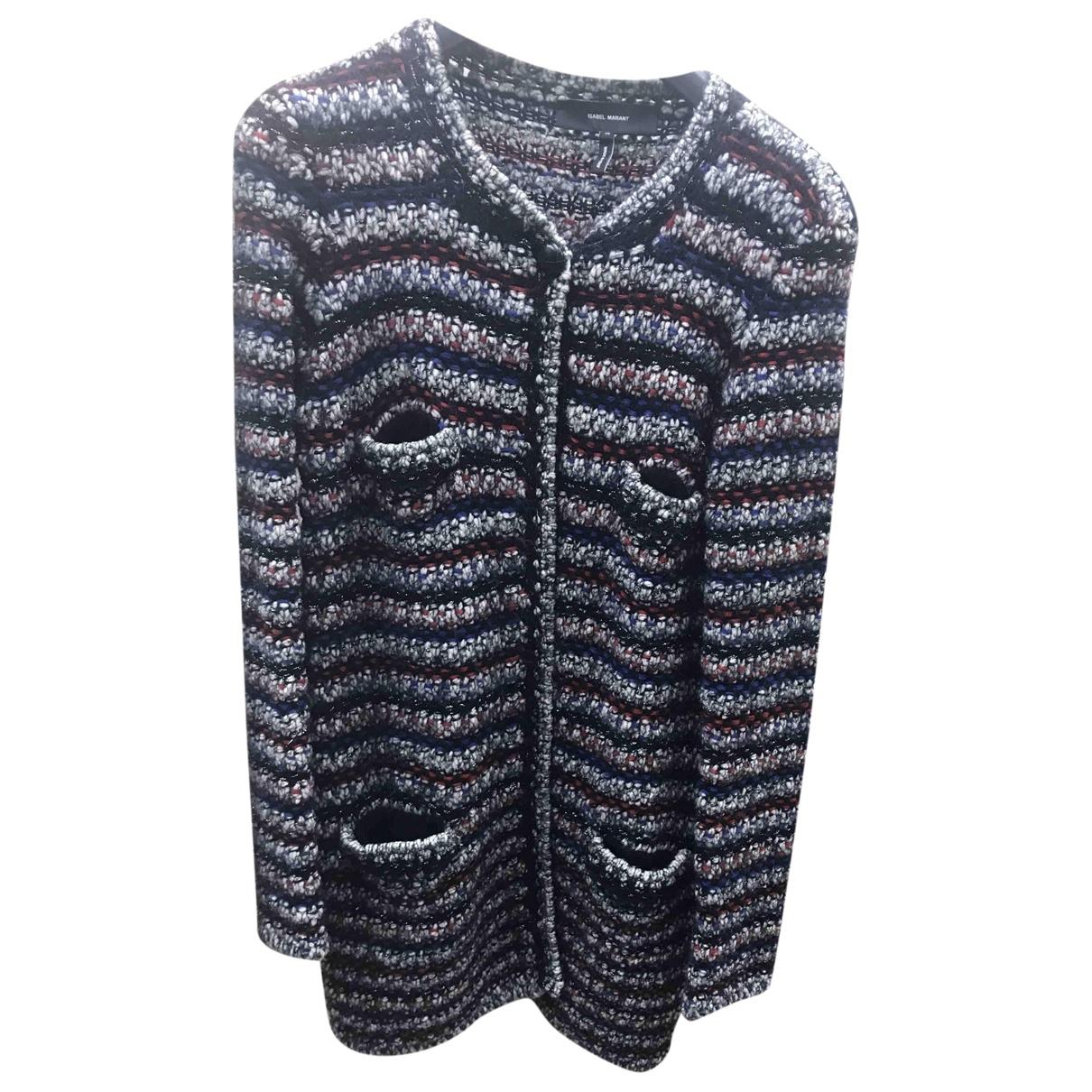 Isabel Marant Etoile - Veste   pour femme en laine - bleu