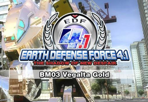 EARTH DEFENSE FORCE 4.1 - BM03 Vegalta Gold DLC Steam CD Key