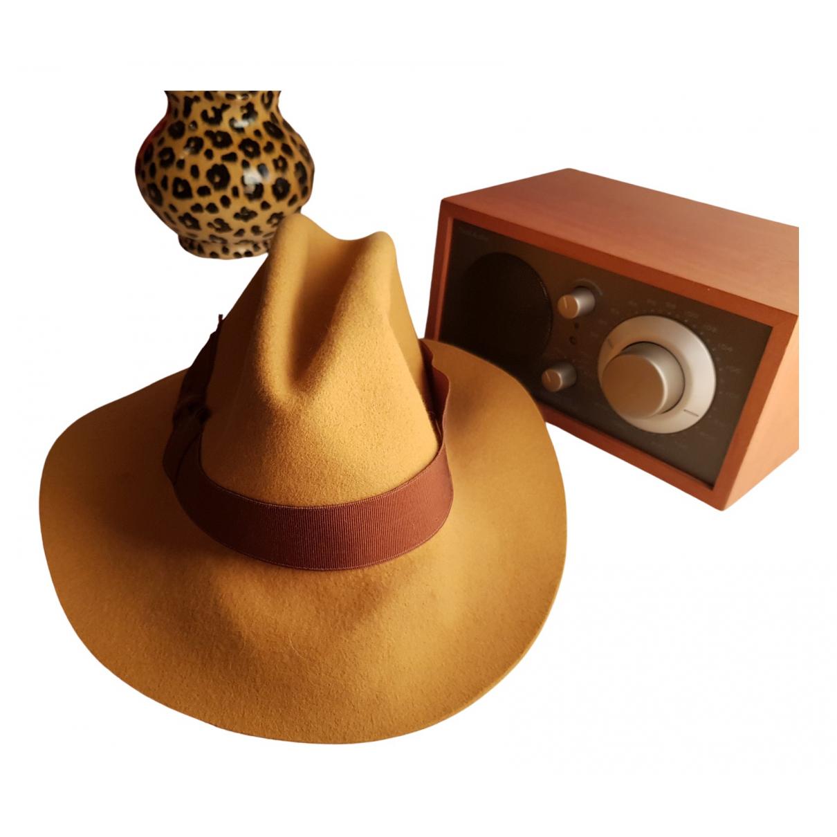 Borsalino \N Beige Wool hat for Women M International