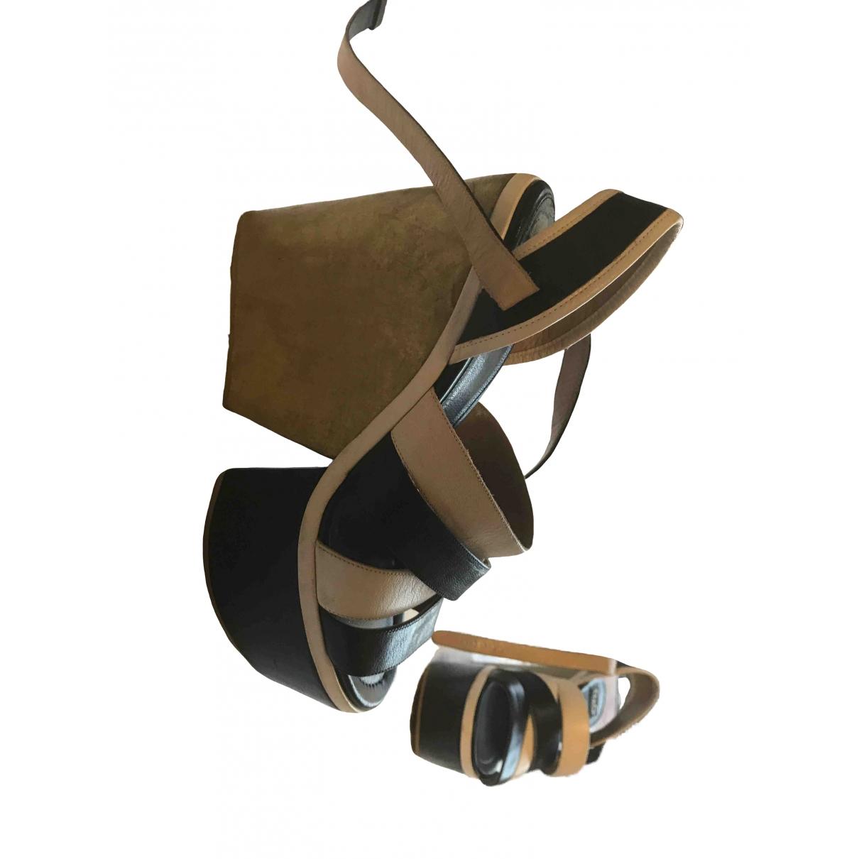 D&g \N Multicolour Leather Heels for Women 39 EU