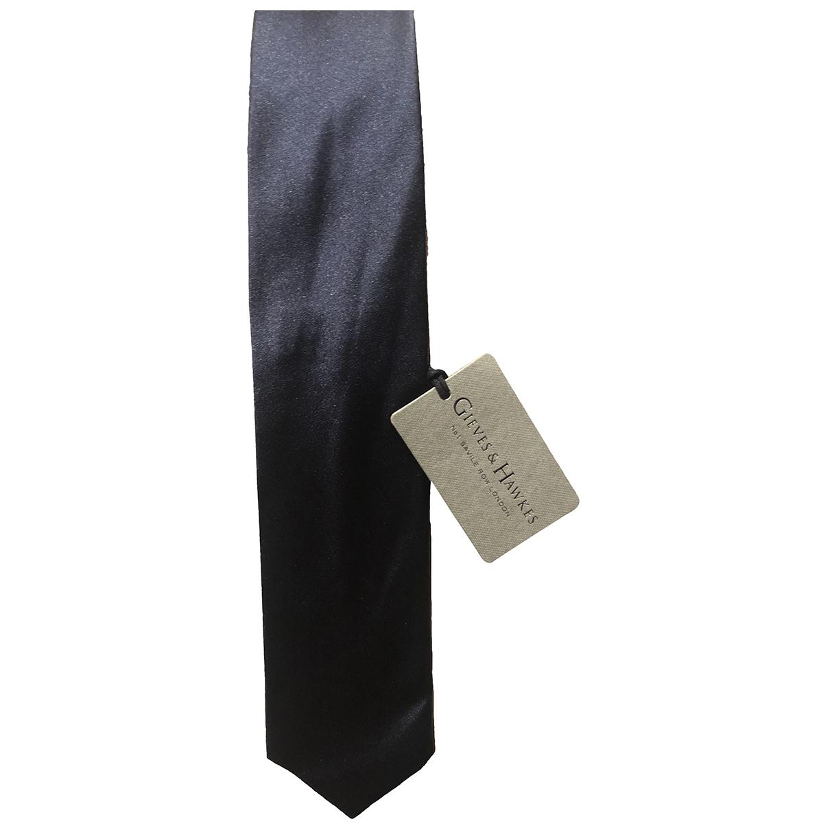 Gieves & Hawkes \N Krawatten in  Marine Synthetik