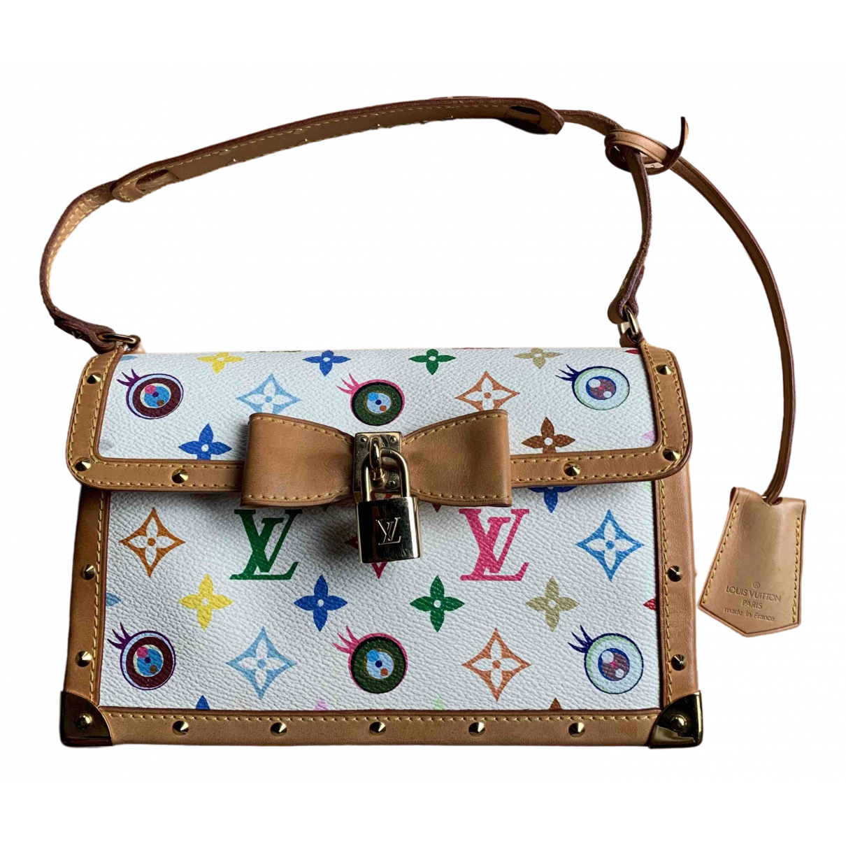 Louis Vuitton Eye Need You Handtasche in  Bunt Leinen