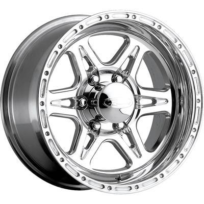 Raceline Wheels Renegade 6, 17x9 with 6x135 Bolt Pattern - Polished - 886-79065