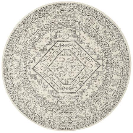 Safavieh Clyde Round Rug, One Size , White