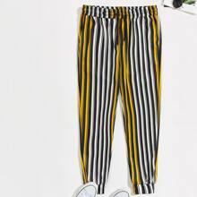 Guys Striped Pants