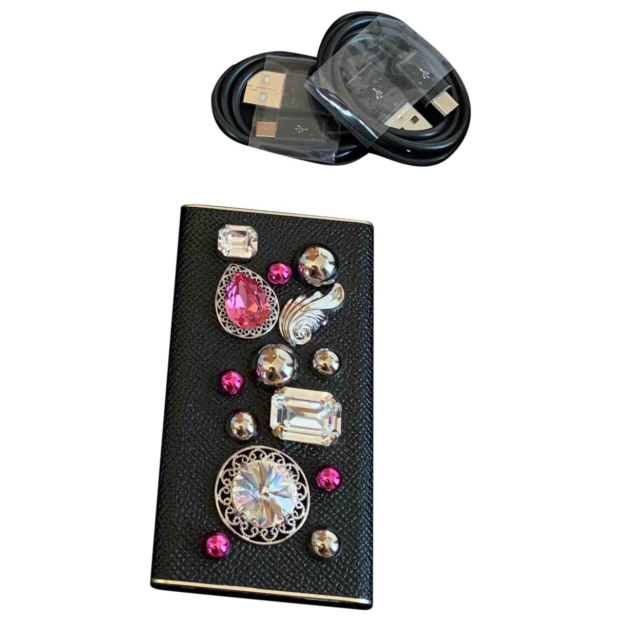 Dolce & Gabbana - Accessoires   pour lifestyle en cuir - noir