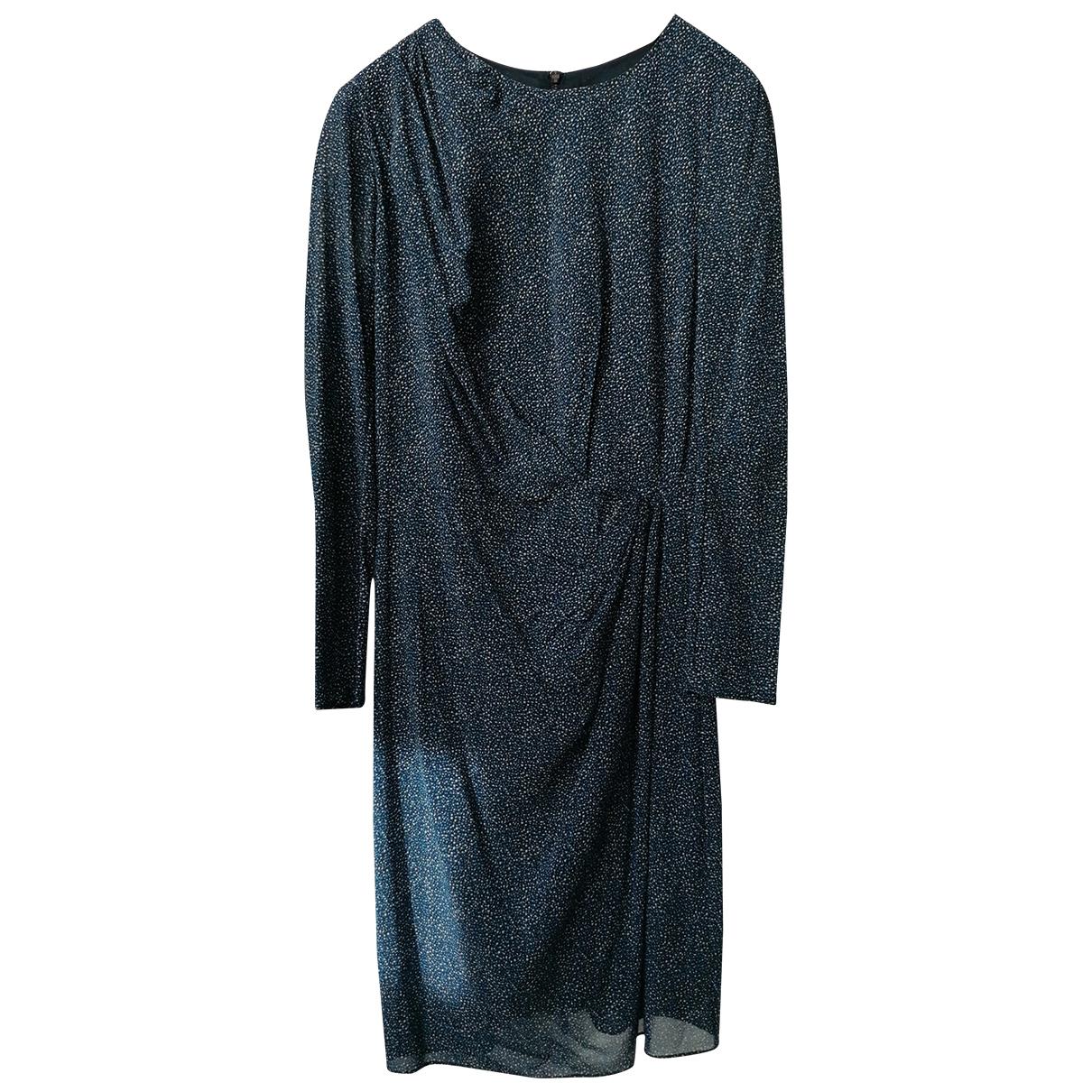 Whistles \N Kleid in  Blau Seide