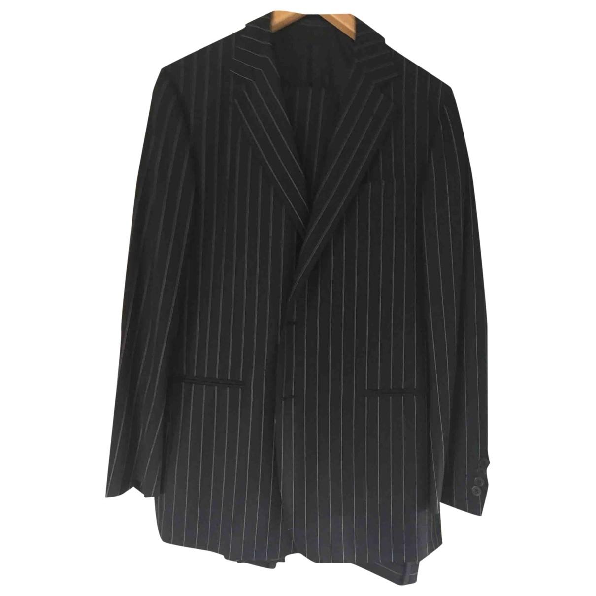 Gianni Versace - Costumes   pour homme en laine - bleu