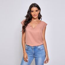 Solid Cut Out Trim Top