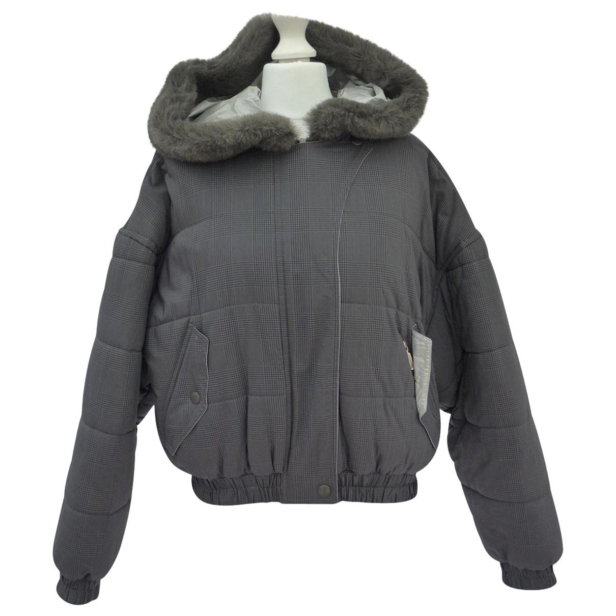 Sport Max \N Maentel in  Grau Polyester