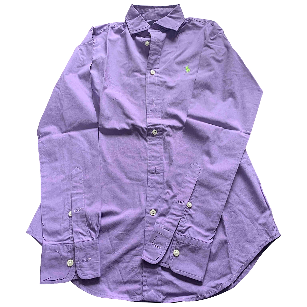 Polo Ralph Lauren \N Purple Cotton  top for Women 4 US