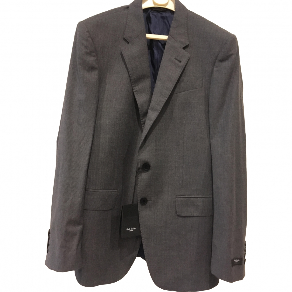 Paul Smith \N Grey Wool Suits for Men 46 FR