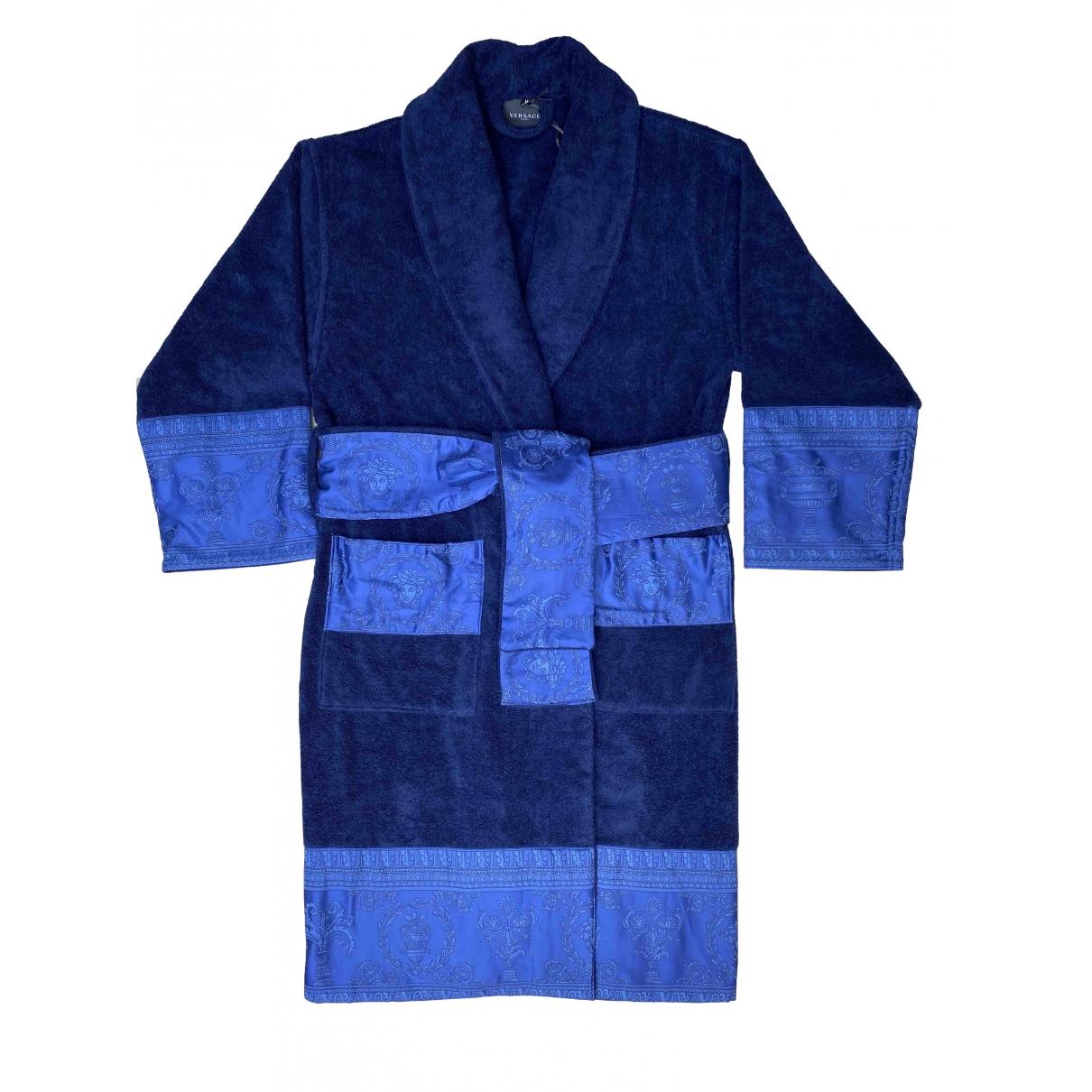 Versace - Linge de maison   pour lifestyle en coton - bleu