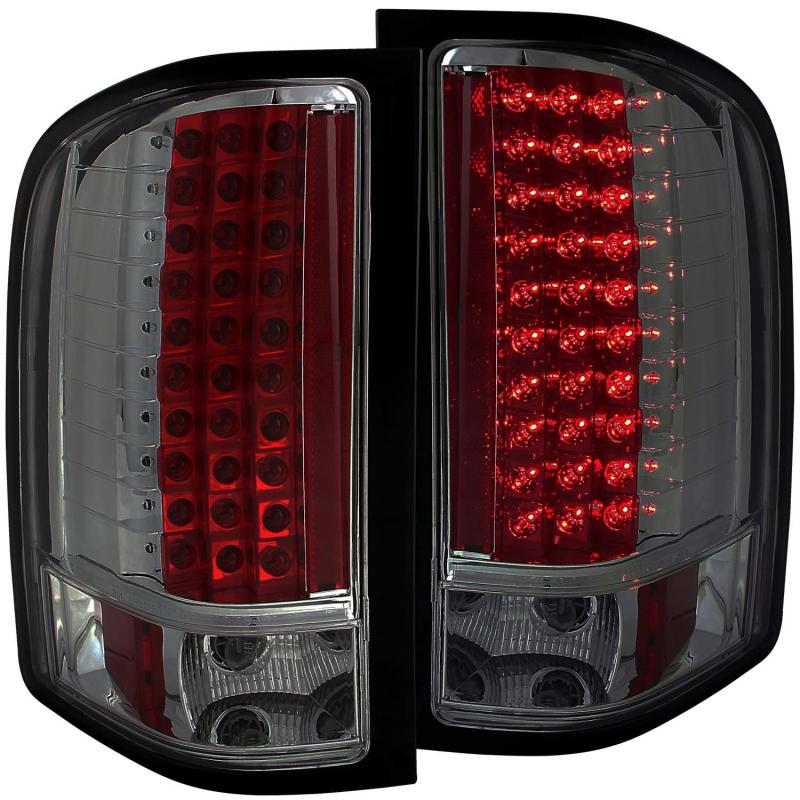 Anzo USA Tail Light Assembly Chevrolet Silverado 1500 2007-2013