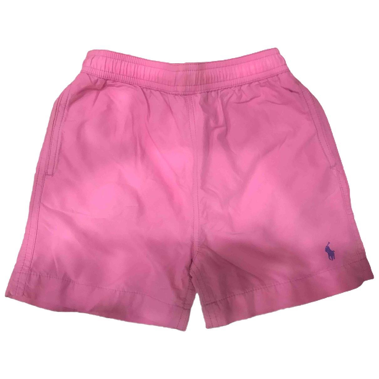 Polo Ralph Lauren \N Shorts in  Rosa Baumwolle