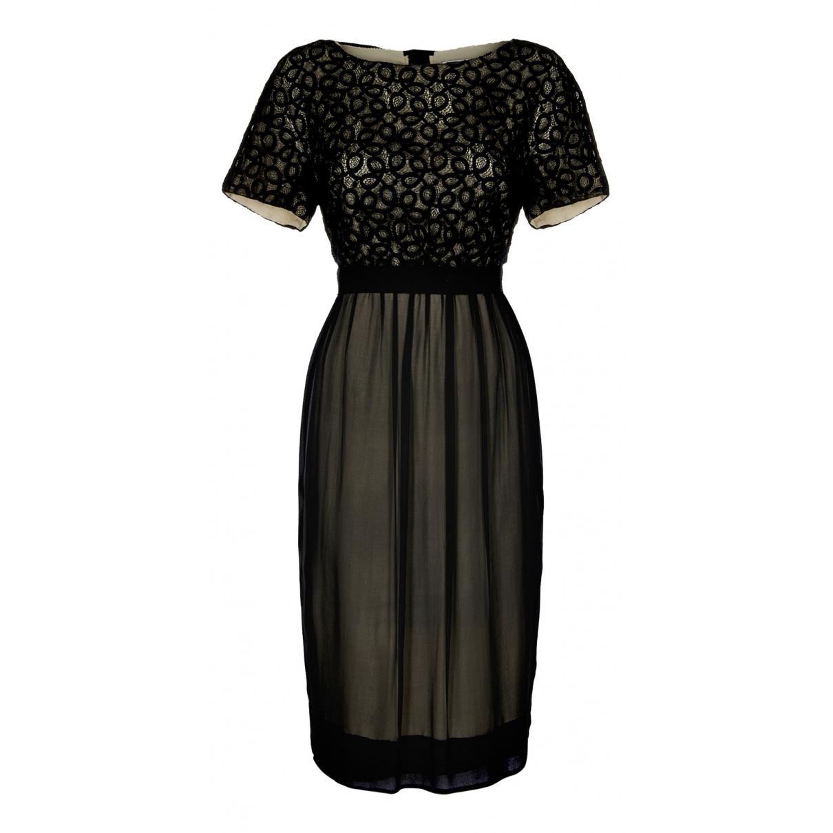 3.1 Phillip Lim N Black Silk dress for Women 6 UK