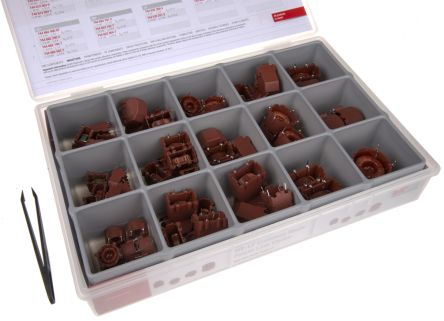 Wurth Elektronik Current Compensated Choke Inductor Kit, 72 pieces