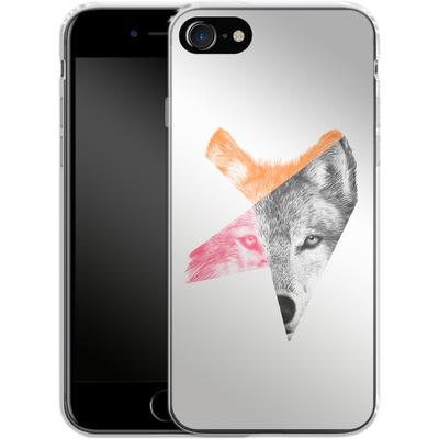 Apple iPhone 7 Silikon Handyhuelle - Wild von Eric Fan