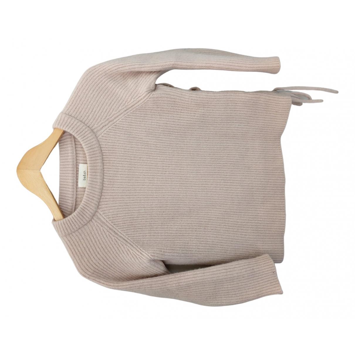 Ba&sh \N Pullover in  Beige Wolle