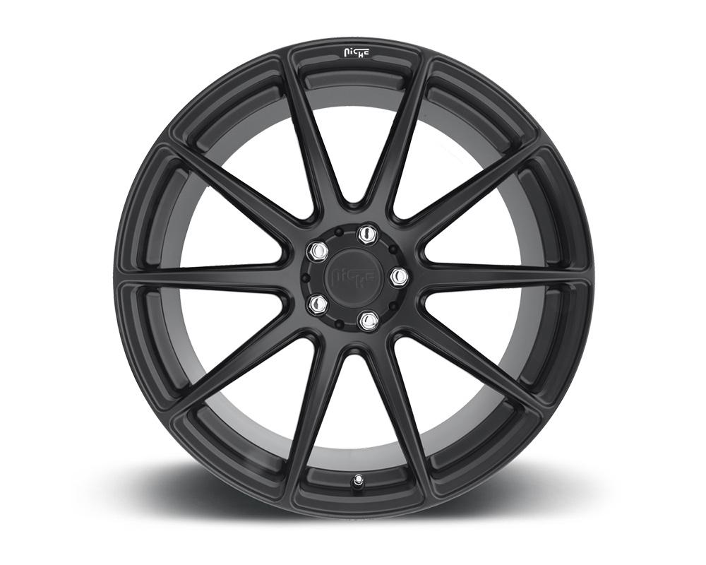 Niche M147 Essen Satin Black 1-Piece Cast Wheel 19x8.5 5x112 42mm