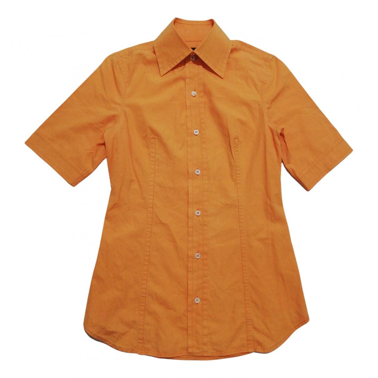 Dsquared2 N Orange Cotton Shirts for Men S International