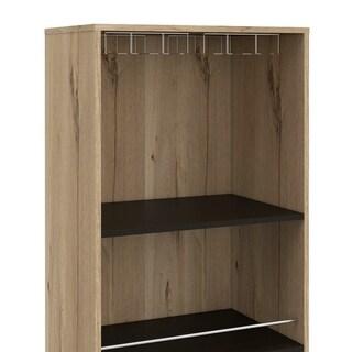 Aster High Bar Cabinet (Beige - MDF)