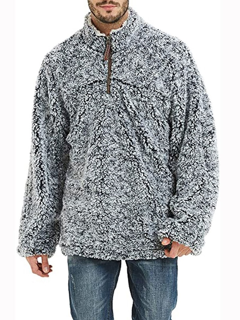 Ericdress Pullover Stand Collar Winter Hoodies