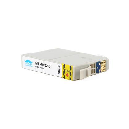Epson 88 T088220 cartouche d'encre compatible cyan - Moustache®