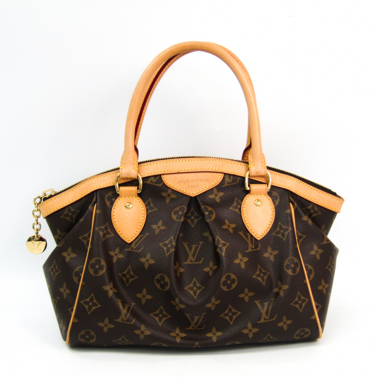 Louis Vuitton Tivoli Brown Cloth handbag for Women \N